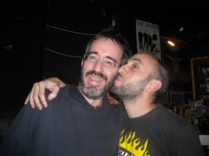 Con Josu Arteaga