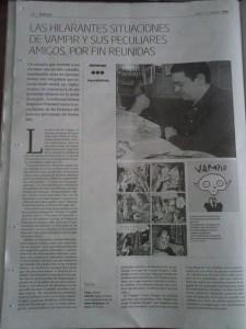 Foto: Hoy en Gara mi repor sobre Vampir de Joann Sfar (me encanta), editado por Fulgencio Pimentel   http://www.naiz.info/eu/hemeroteca/gara/editions/gara_2014-02-02-06-00/hemeroteca_articles/las-hilarantes-situaciones-de-vampir-y-sus-peculiares-amigos-por-fin-reunidas