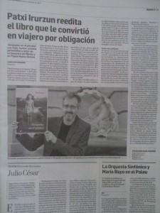 Foto: Ayer en Diario de Navarra