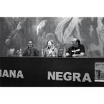 En la Semana Negra de Gijón 2012, con Esteban Gutiérrez