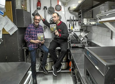 El nuevo libro fue presentado hace unos días en el restaurante A Fuego Negro de Donostia. Miren Lacalle no pudo asistir a la misma por una gripe que la obligó a permanecer en la cama. El autor del prólogo Patxi Irurzun y el cocinero Edorta Lamo se encargaron de ofrecer todos los detalles