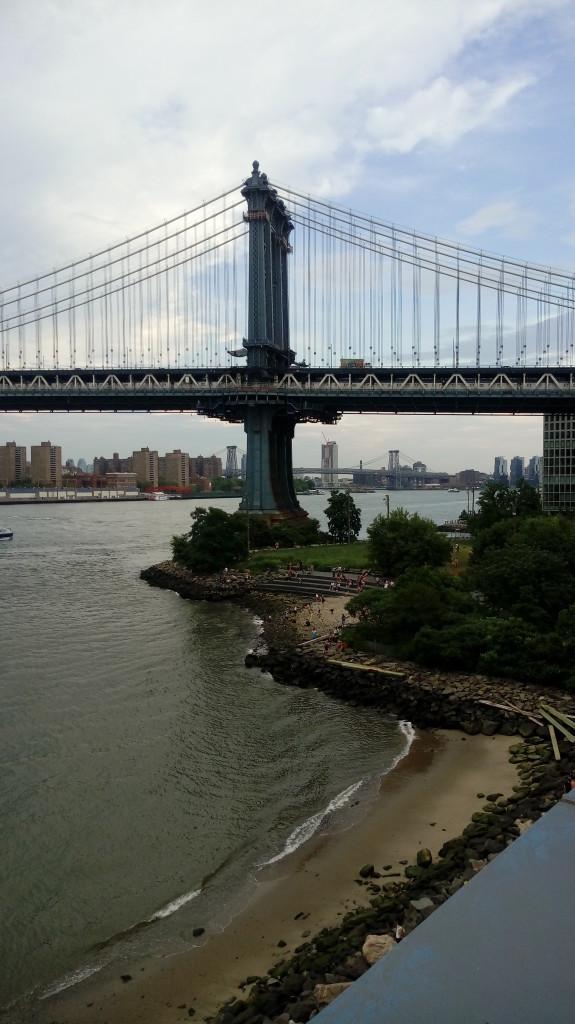 puente de manhattan desde Dumbo